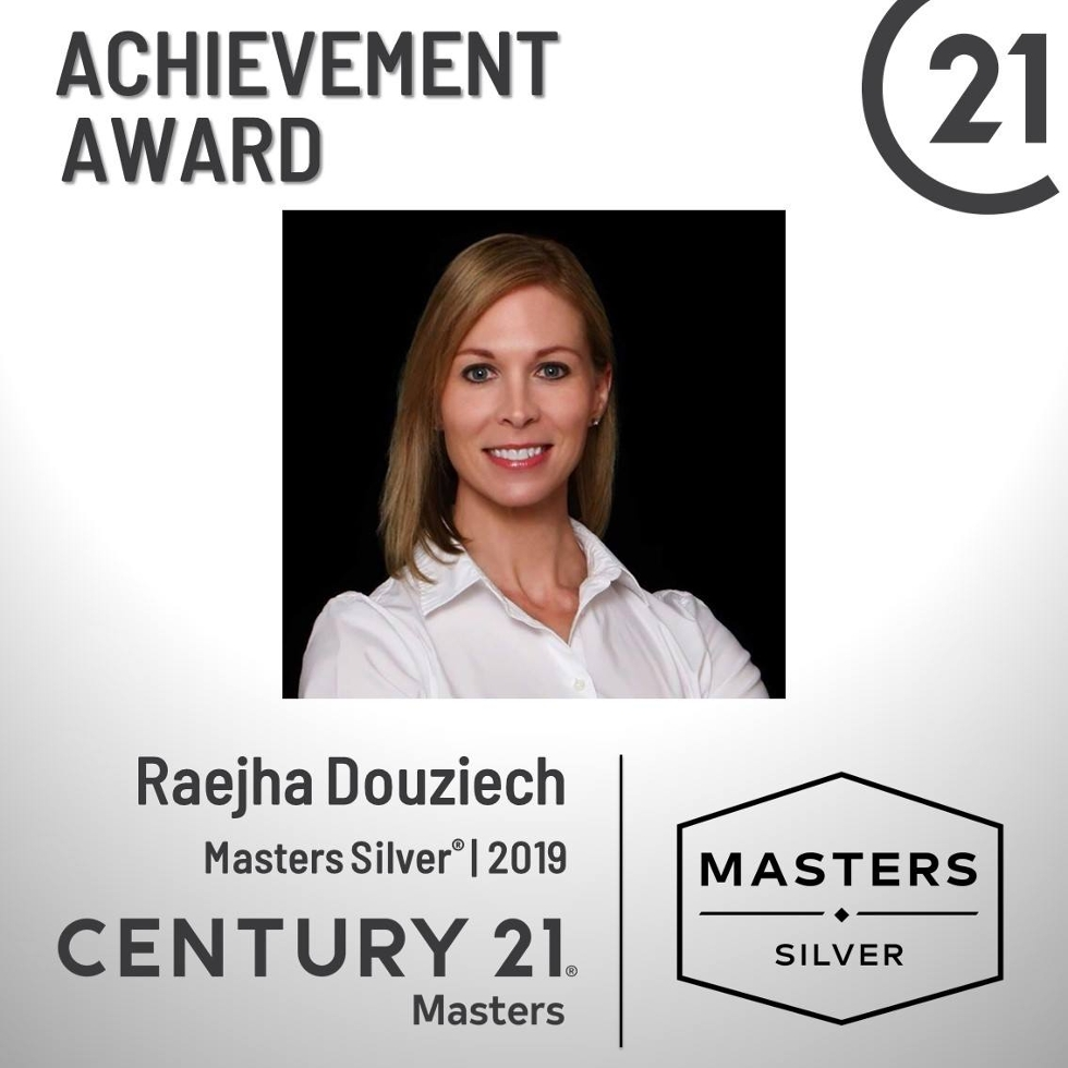 2019 Masters Silver Achievement Award
